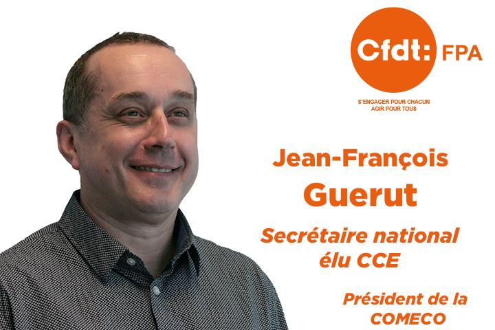 Secrétaire national et élu CCE