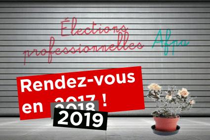 élection professionnelle en 2019