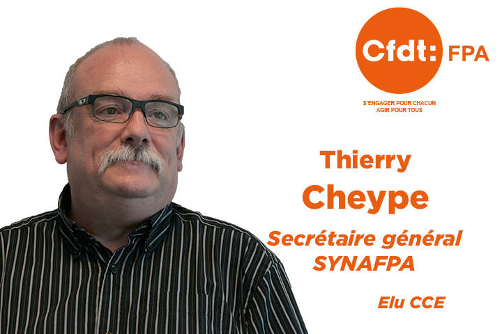 Secrétaire général SYNAFPA