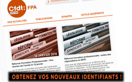 site Web Cfdt Afpa
