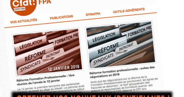 site Web Cfdt Afpa