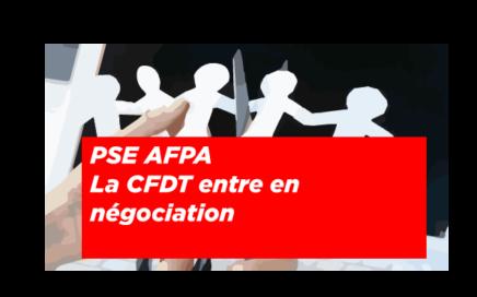 PSE AFPA : la cfdt entre en négociation